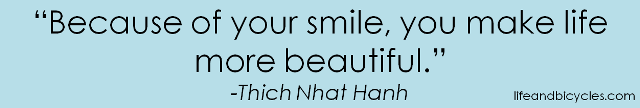 Because of your smile
