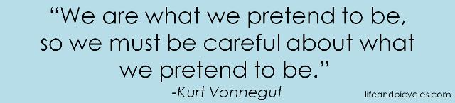 what we pretend
